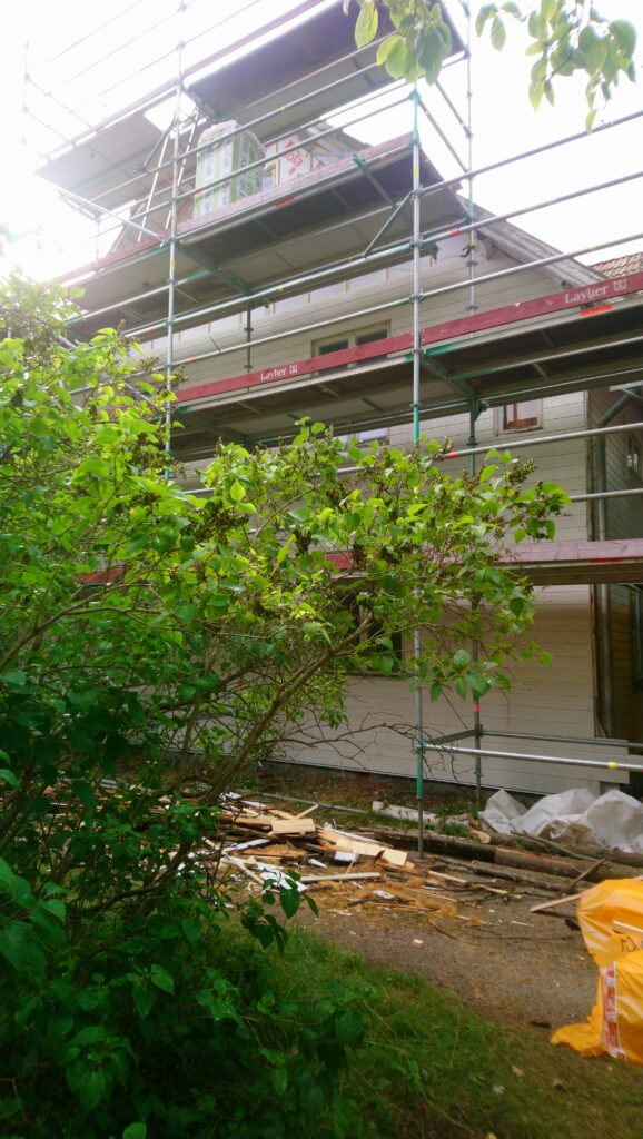 Facade Renovation New Panels