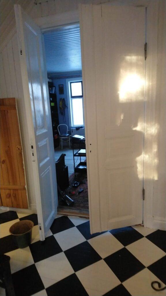 Old door recycled