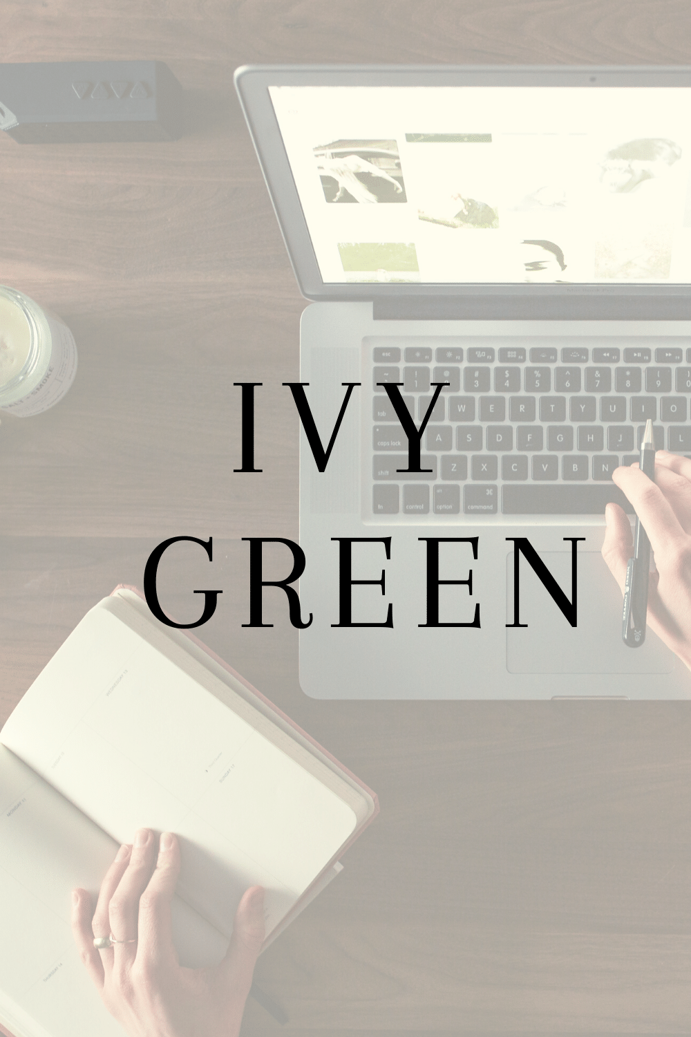 The simple reason why I commenced Ivy-Green Blog