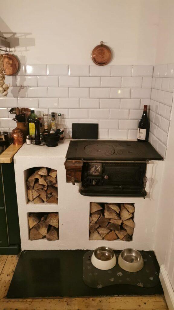 Wooden Stove - kitchen stove