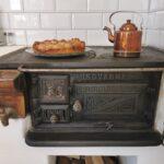 Swedish wooden stove