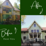 before after old house renovation