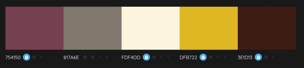 Colour Palette_Living room dark colours