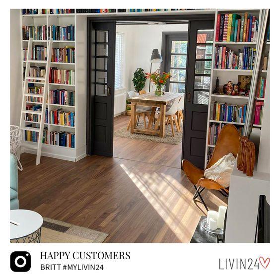 bookshelf as room devider remodelling