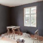 blue salon renovation procress