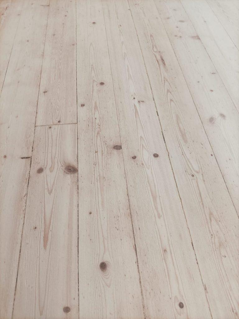 wooden floor after renovation